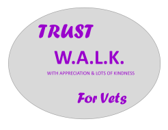 Trust W.A.L.K. for Vets