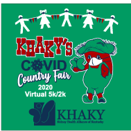 KHAKY'S COVID Country Fair and Virtual 2k/5K Run Walk