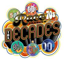 Race Through the Decades Logo