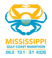 Mississippi Gulf Coast Marathon Logo