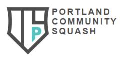 Portland Community Squash - 2019 beneficiary