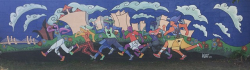 Elm City Footrace Mural Restoration c/o Neighborhood Housing Services of New Haven