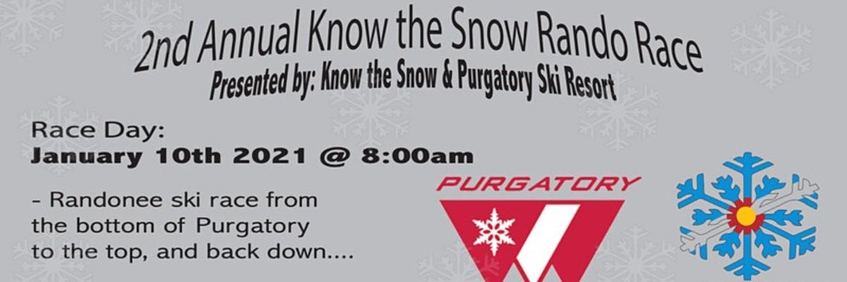 Silverton Avalanche School Rando Race promo