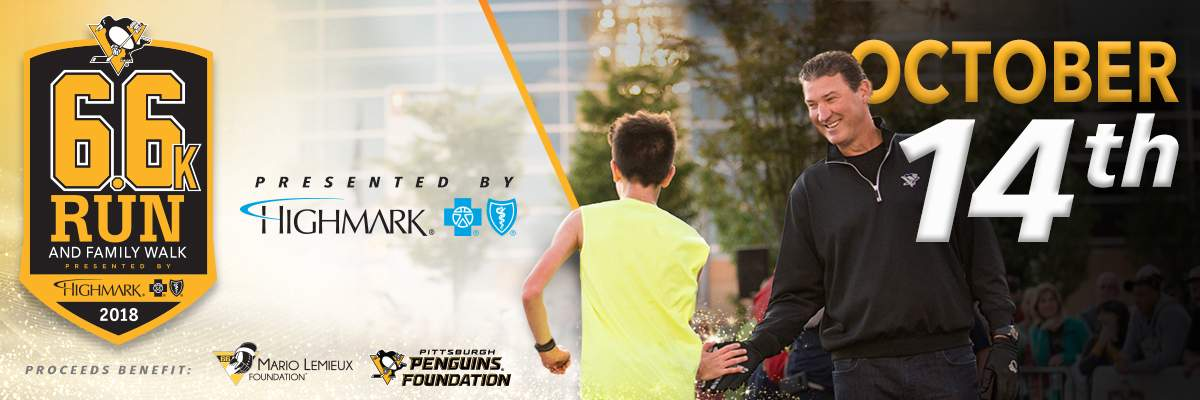 Pittsburgh Penguins 6.6K Run and Family Walk presented by Highmark Banner Image