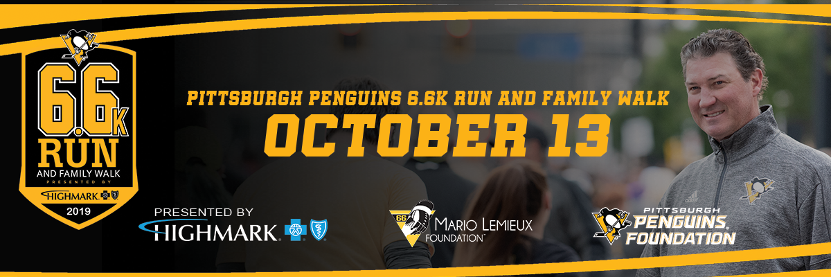 best service f4e28 3f1af Pittsburgh Penguins 6.6K Run and Family Walk presented by ...