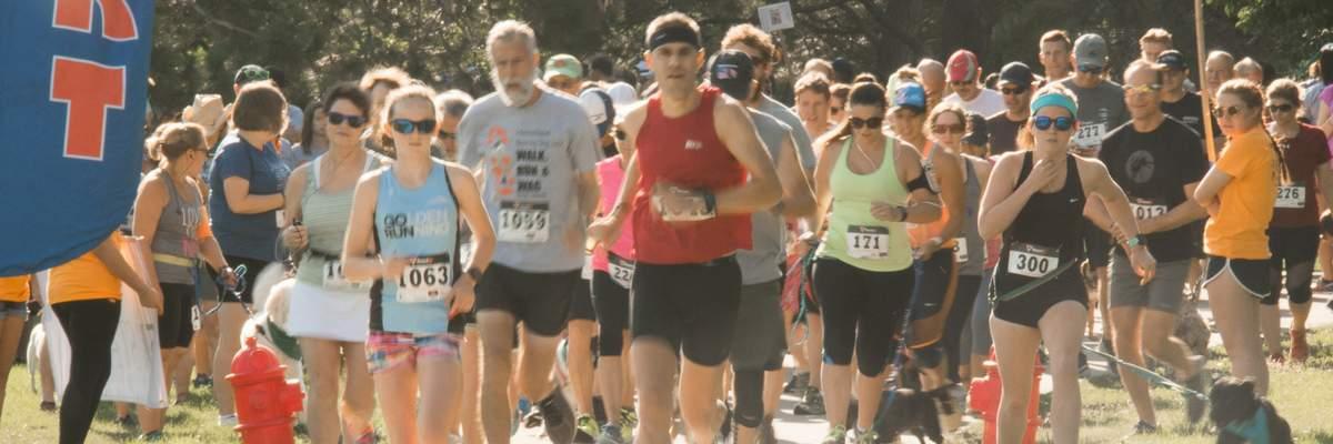 Walk Run Wag 5K Banner Image