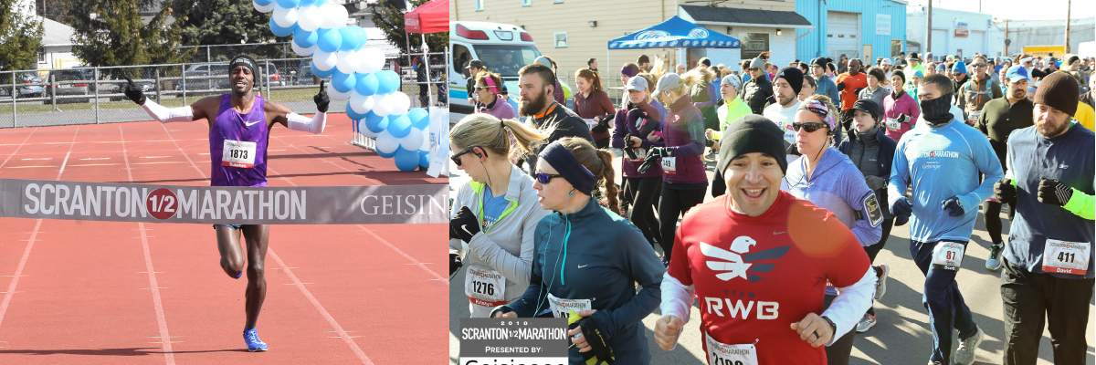 Scranton Half Marathon Banner Image