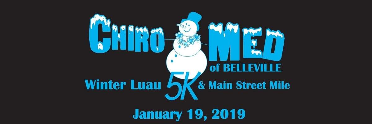 Chiro-Med Winter Luau 5K & Main Street Mile Banner Image