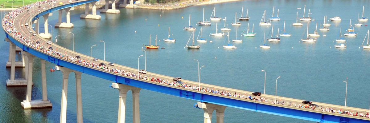 The Navy's 33rd Bay Bridge Run/Walk Banner Image