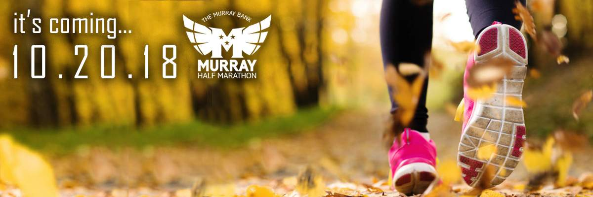 Murray Bank Murray Half Marathon/Relay plus  The McConnell Insurance 5K Banner Image
