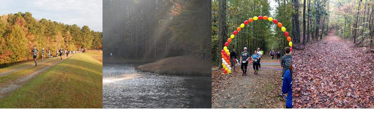 Autumn Chase 15K/5K Trail Run, & 1 Mile - Supporting the Fitness Center & Our Community Fitness Programs Banner Image