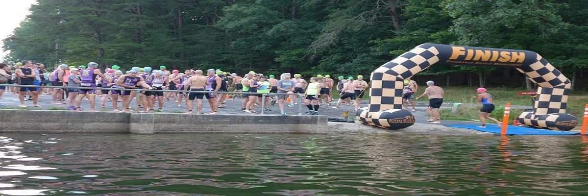 Tri Fall Creek Falls Endurance Distance, Olympic & Calfkiller Sprint Triathlons Banner Image