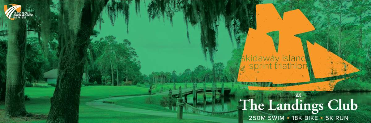 Skidaway Island Sprint Triathlon at The Landings Club Banner Image