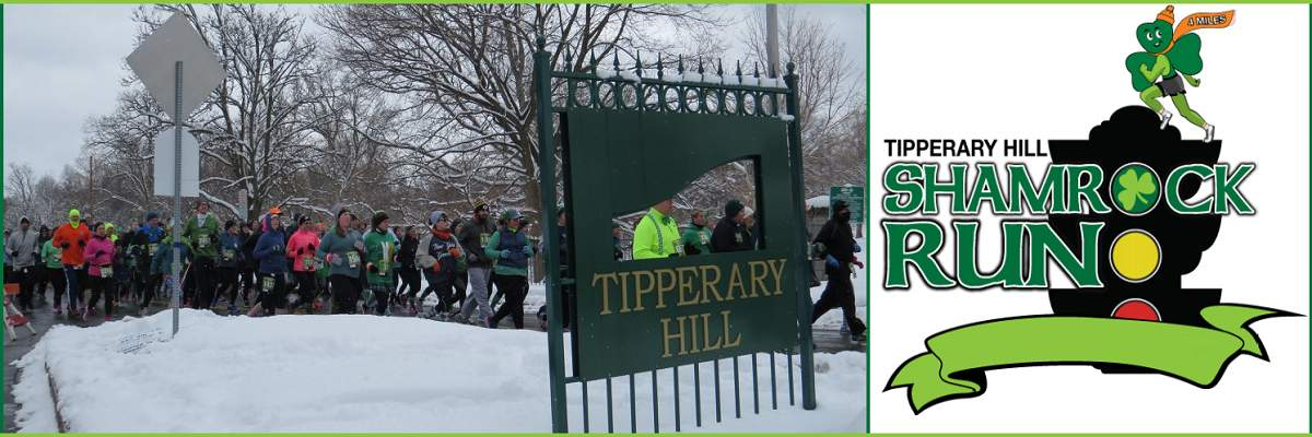 The 14th Annual Tipperary Hill Shamrock Run Banner Image