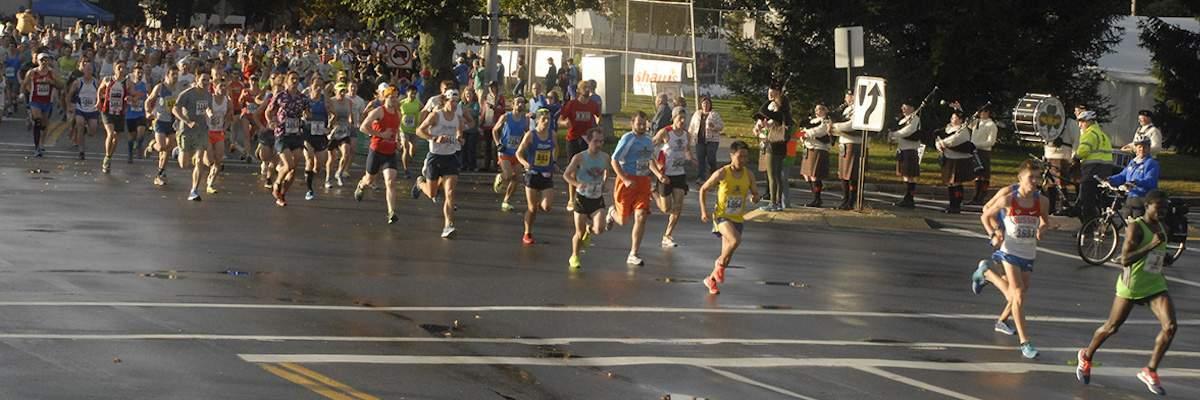 Maine Marathon, Half Marathon and Marathon Relay Banner Image