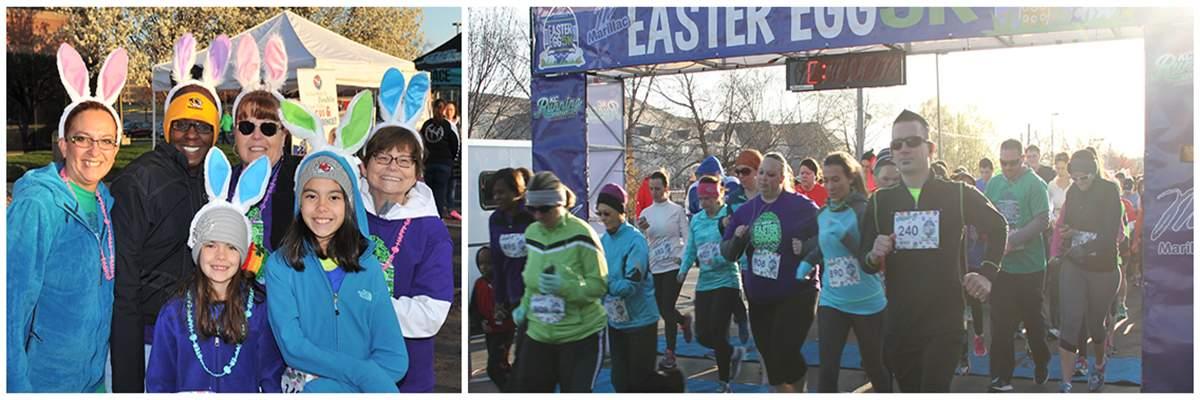 Easter Egg 5K & Lil' Bunny Fun Run Banner Image
