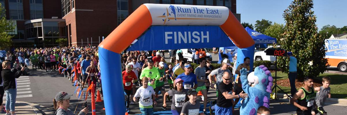 Johnston Health Champions 5K & 10K Banner Image