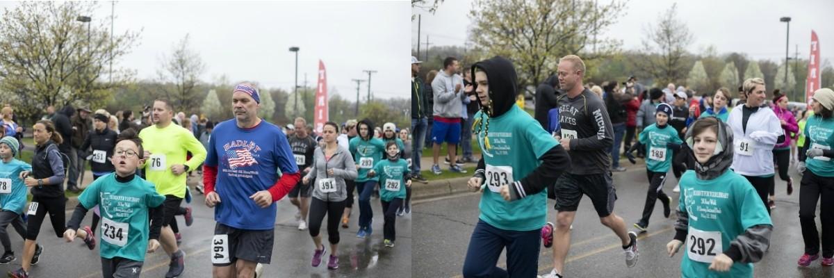 BOOKIN' IT FOR YOUR LIBRARY 5K Run/Walk & Dewey Decimal Dash Banner Image