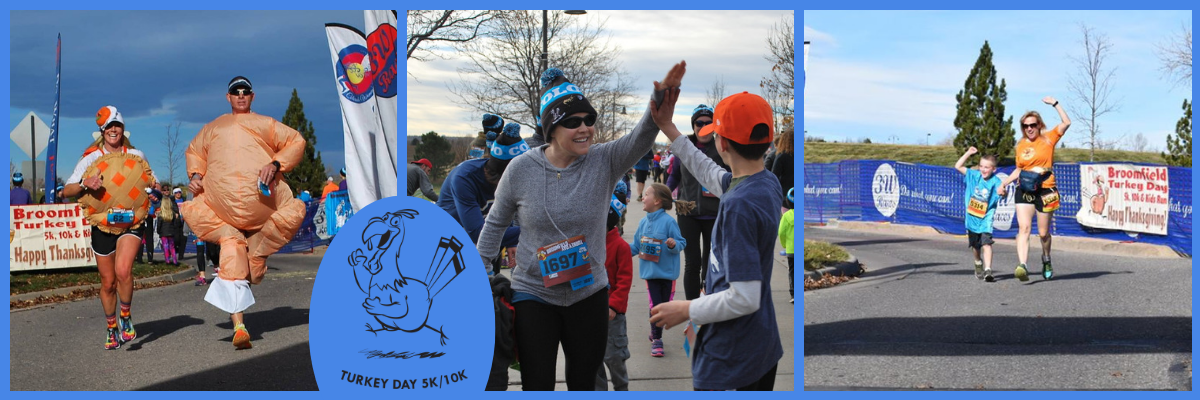 Broomfield Turkey Day 5K/10K Banner Image