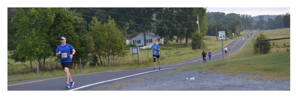 Run the Valley 5K - 10K - 1/2 Marathon Banner Image
