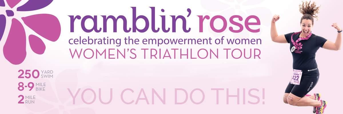 Ramblin Rose Women's Triathlon - Huntersville (NC) Banner Image