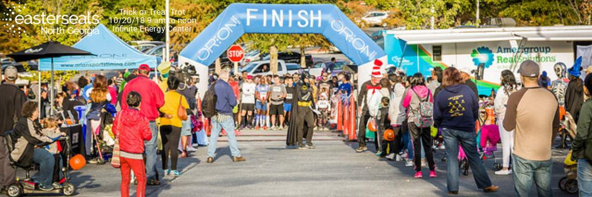 Trick-Or-Treat Trot 5K Run/Walk, Costumes, & More Banner Image