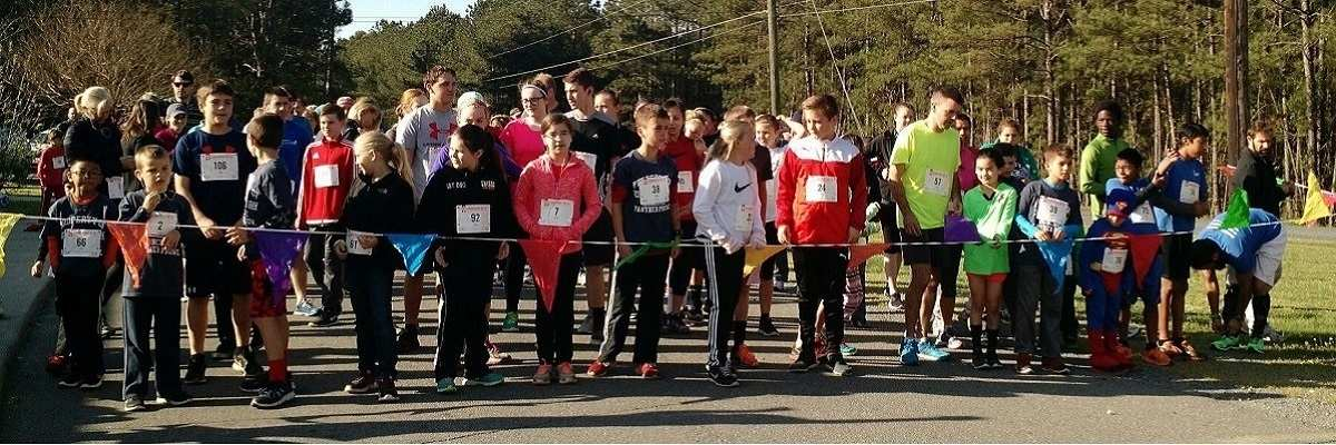 Moncure Panther Prowl 5K and Fun Run Banner Image