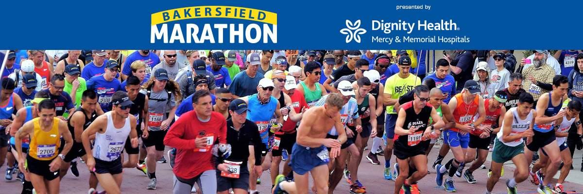 Bakersfield Marathon & Half Banner Image