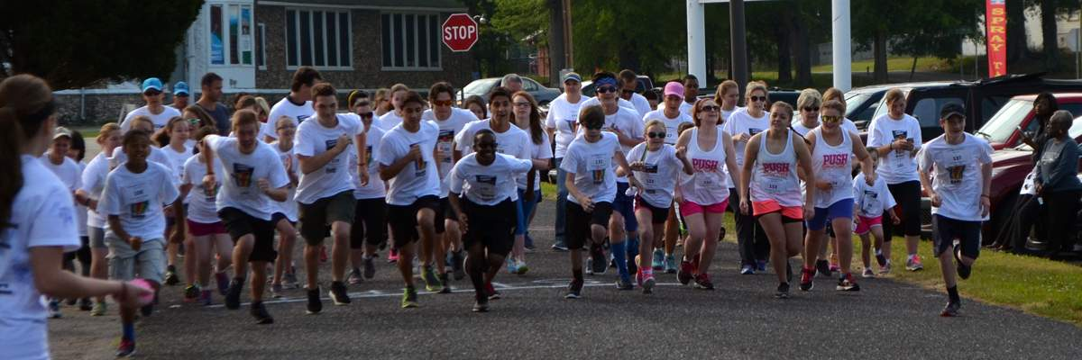 Band Together 5K Run & 1 Mile Color Run Banner Image