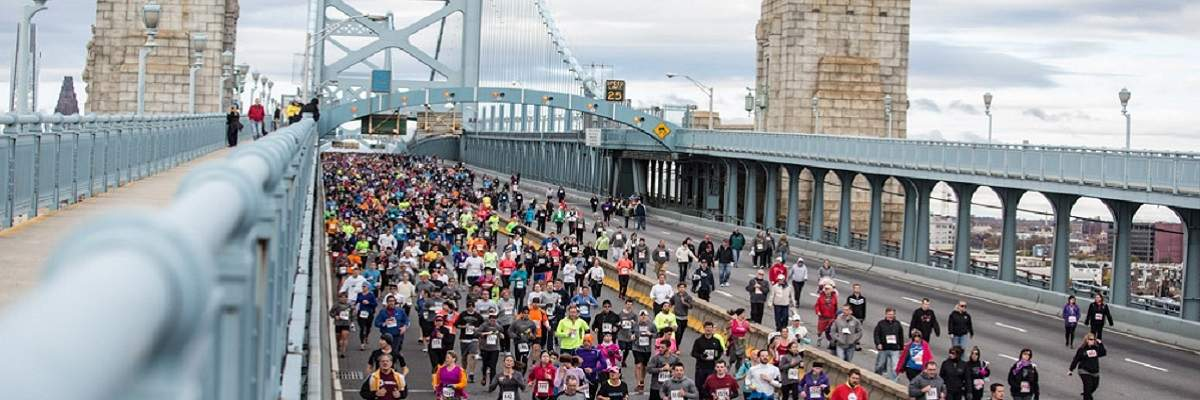 2019 Cooper Norcross Run the Bridge Event presented by AmeriHealth NJ Banner Image