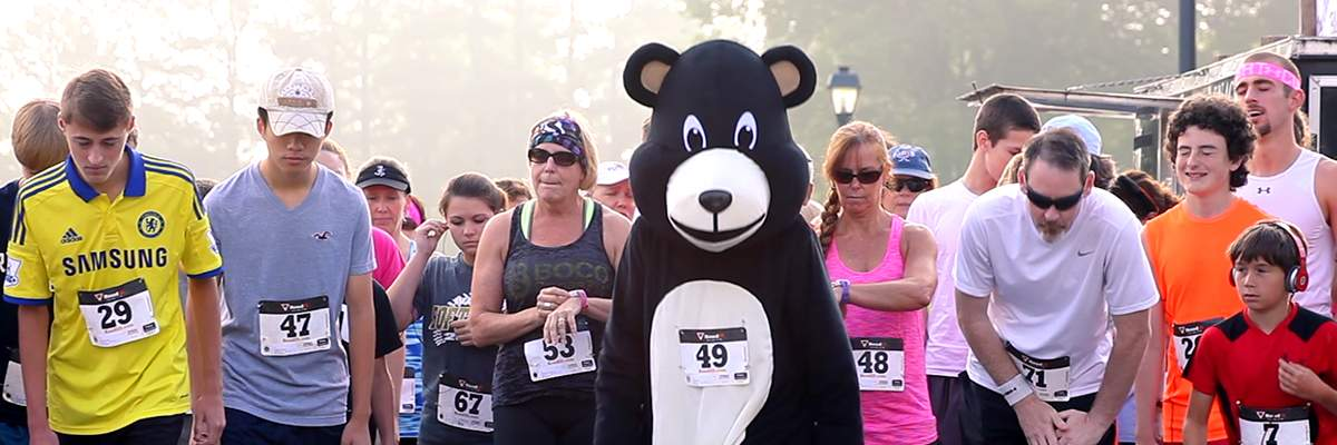 Run With The Bears 5K Banner Image