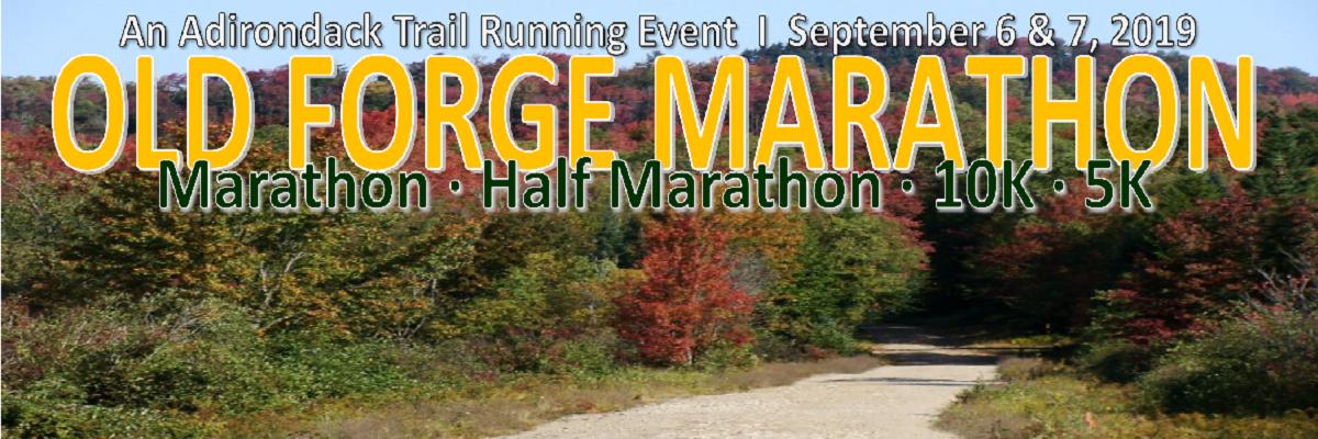 Old Forge Marathon (26.2, 13.1, 10K, 5K) Banner Image