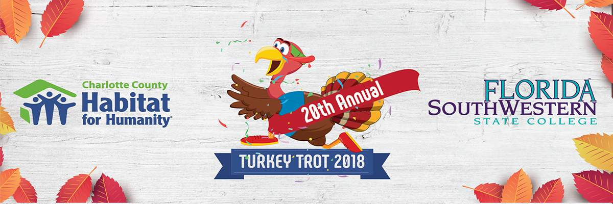 21st Annual Turkey Trot 5K Run/Fun Walk Banner Image