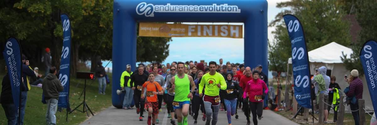 Sleeping Bear Marathon, Half Marathon & 5K Banner Image
