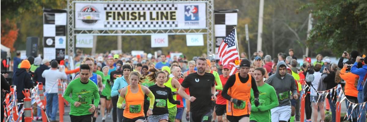 Spa Running Festival  Banner Image