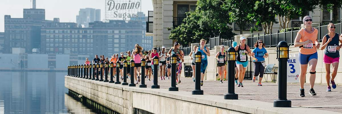 Mercy Baltimore Women's Classic 5K presented by New Balance Banner Image