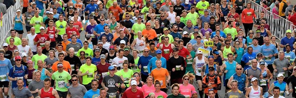 Kentucky Derby Festival miniMarathon and Marathon Banner Image