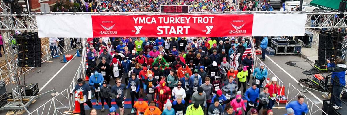 123rd Annual YMCA Buffalo Niagara Turkey Trot Banner Image