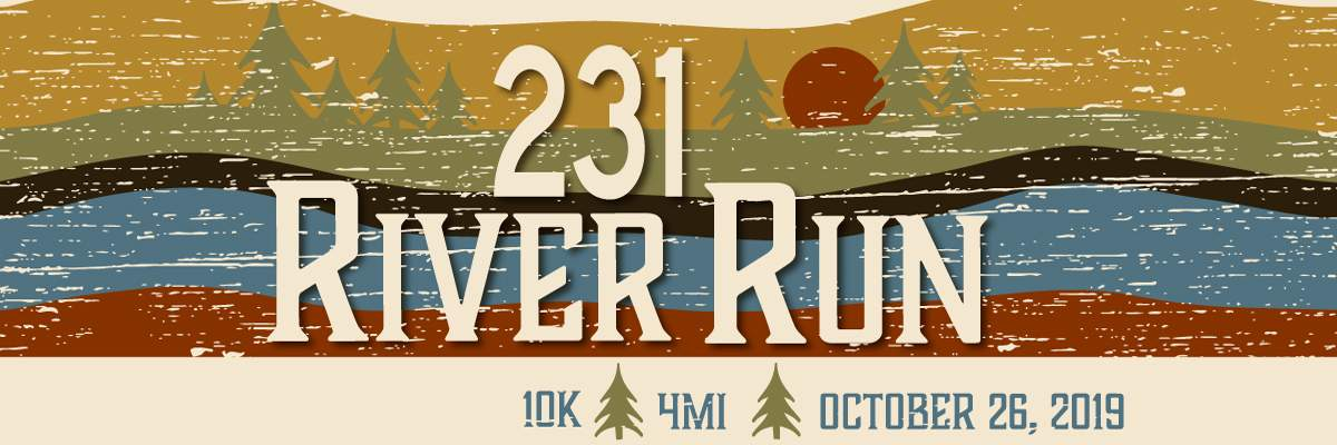 231 River Run 10K & 4 Miler Banner Image