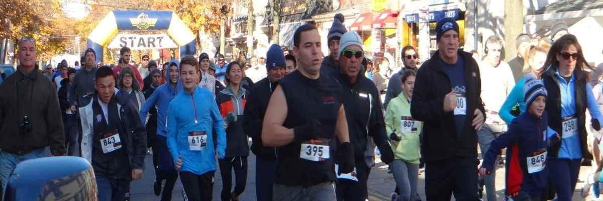 The Oyster Bay Turkey Trot Banner Image