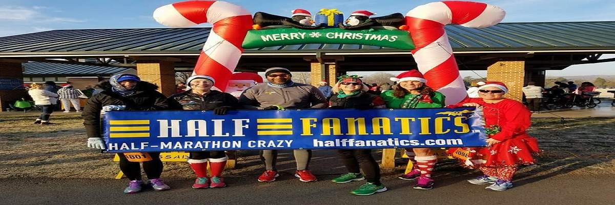 Rock'in Santa Half Marathon & Sunshine Santa 5K Banner Image