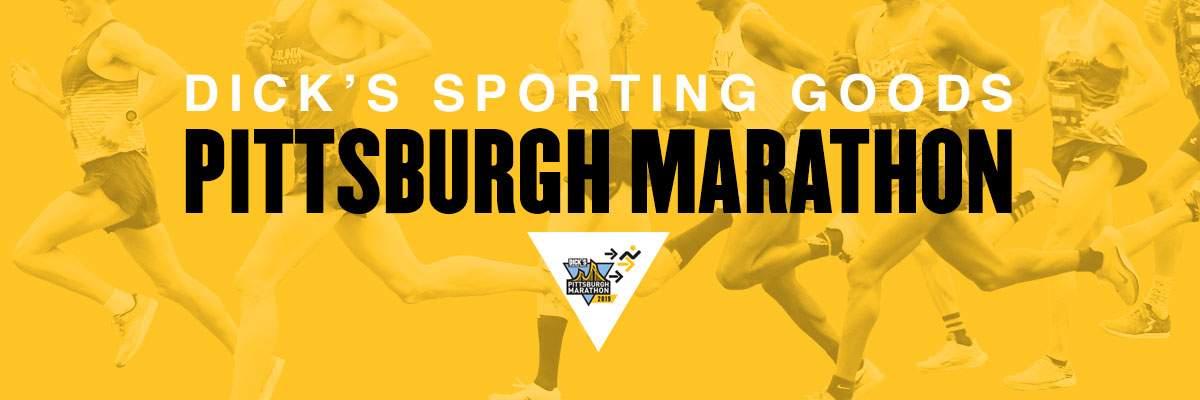 DICK'S Sporting Goods Pittsburgh Marathon Banner Image