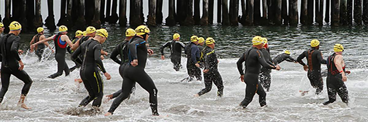 Dip and Dash Aquathlon #1 Banner Image