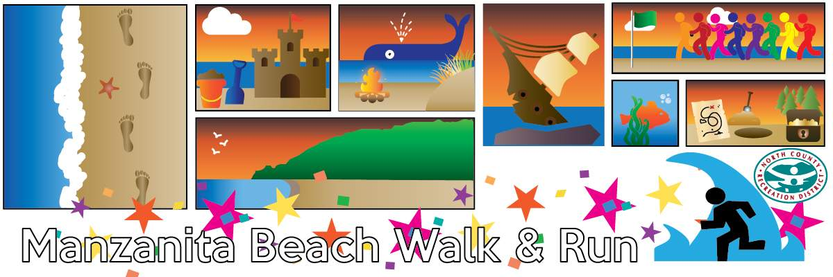 29th Annual NCRD's Beach Walk & Run @ Manzanita Banner Image