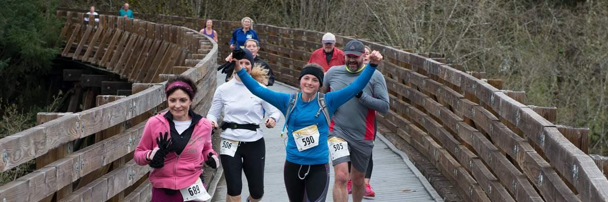 ORRC Vernonia Marathon & Half Marathon Banner Image