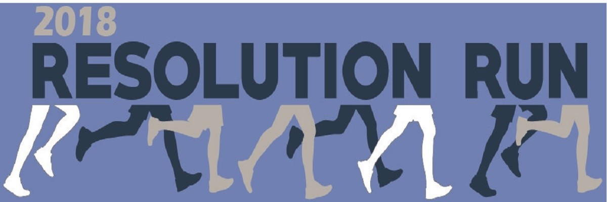 Blue Cross Resolution Run 2018 Banner Image
