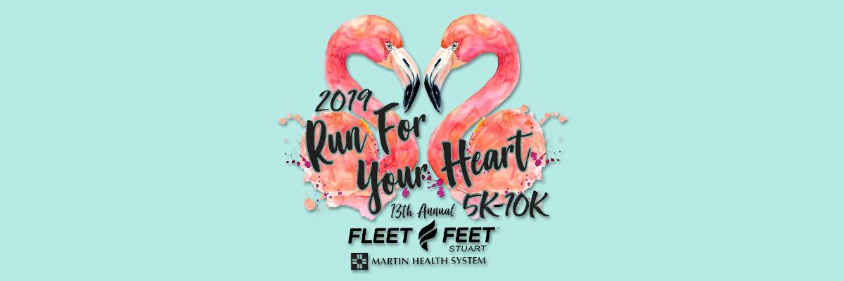 13th Annual Fleet Feet Run For Your Heart 5K/10K and Kids Fun Run Banner Image