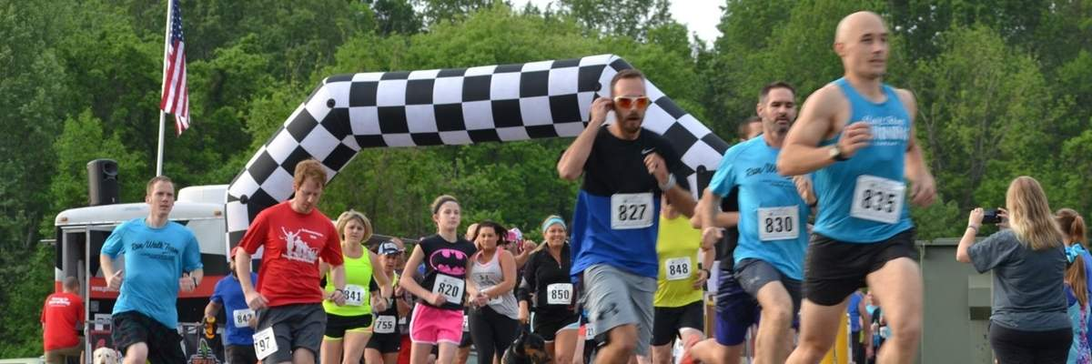 Walk Run and Wag Your Tail 5K Banner Image