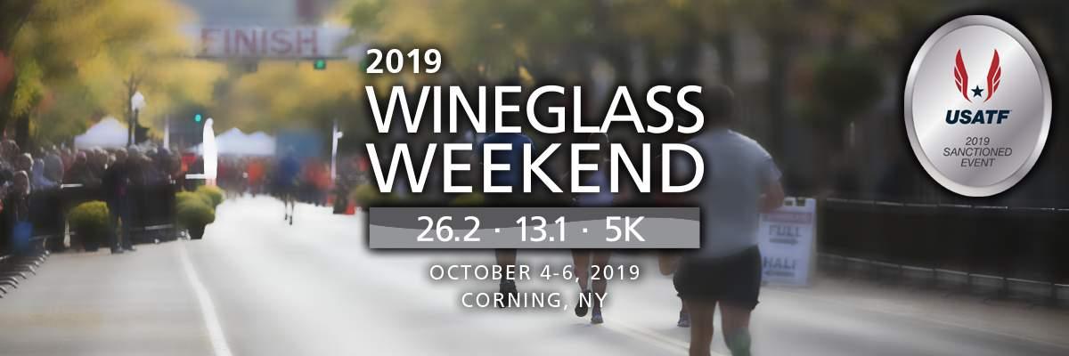 Guthrie Wineglass Marathon, Wineglass Half Marathon & Corelle 5K Banner Image