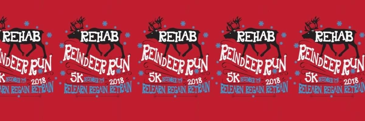 Rehab Reindeer Run Banner Image
